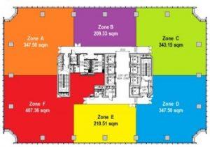 Menara BTPN - Floor Plan