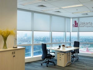 Sewa kantor kecil furniture di Equity Tower
