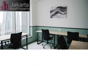 Sewa kantor kecil furniture di Menara Mandiri 1