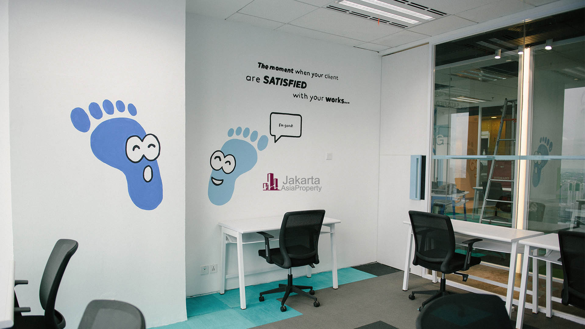Sewa kantor di Menara BTPN